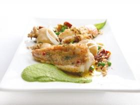 OROGEL filetto scorfano insalatina seppoline